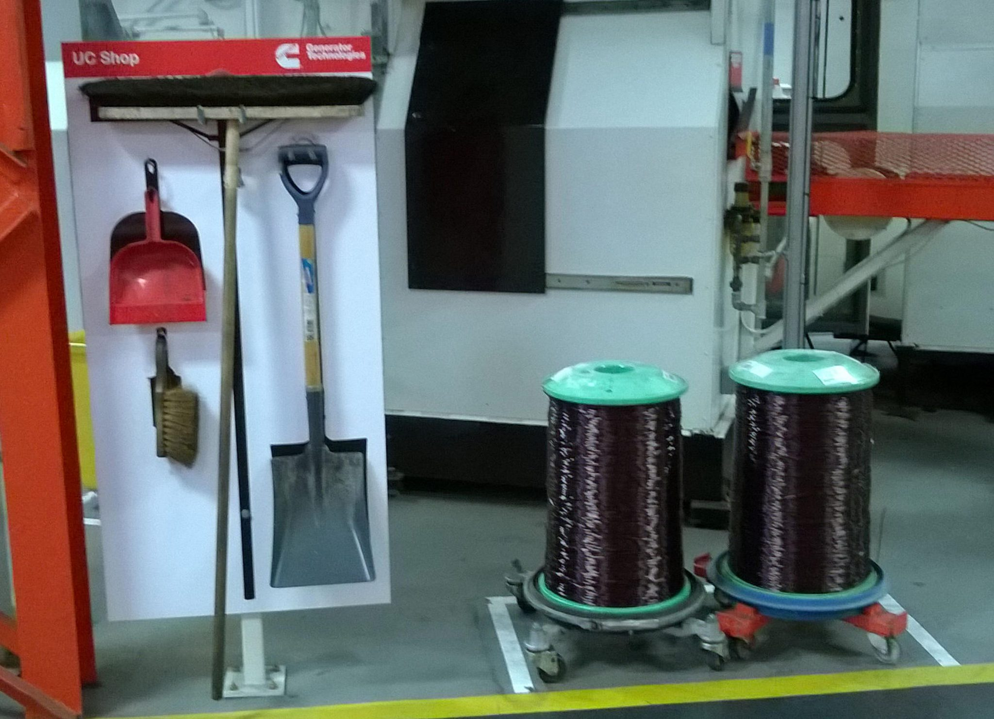 Cleaning stand
