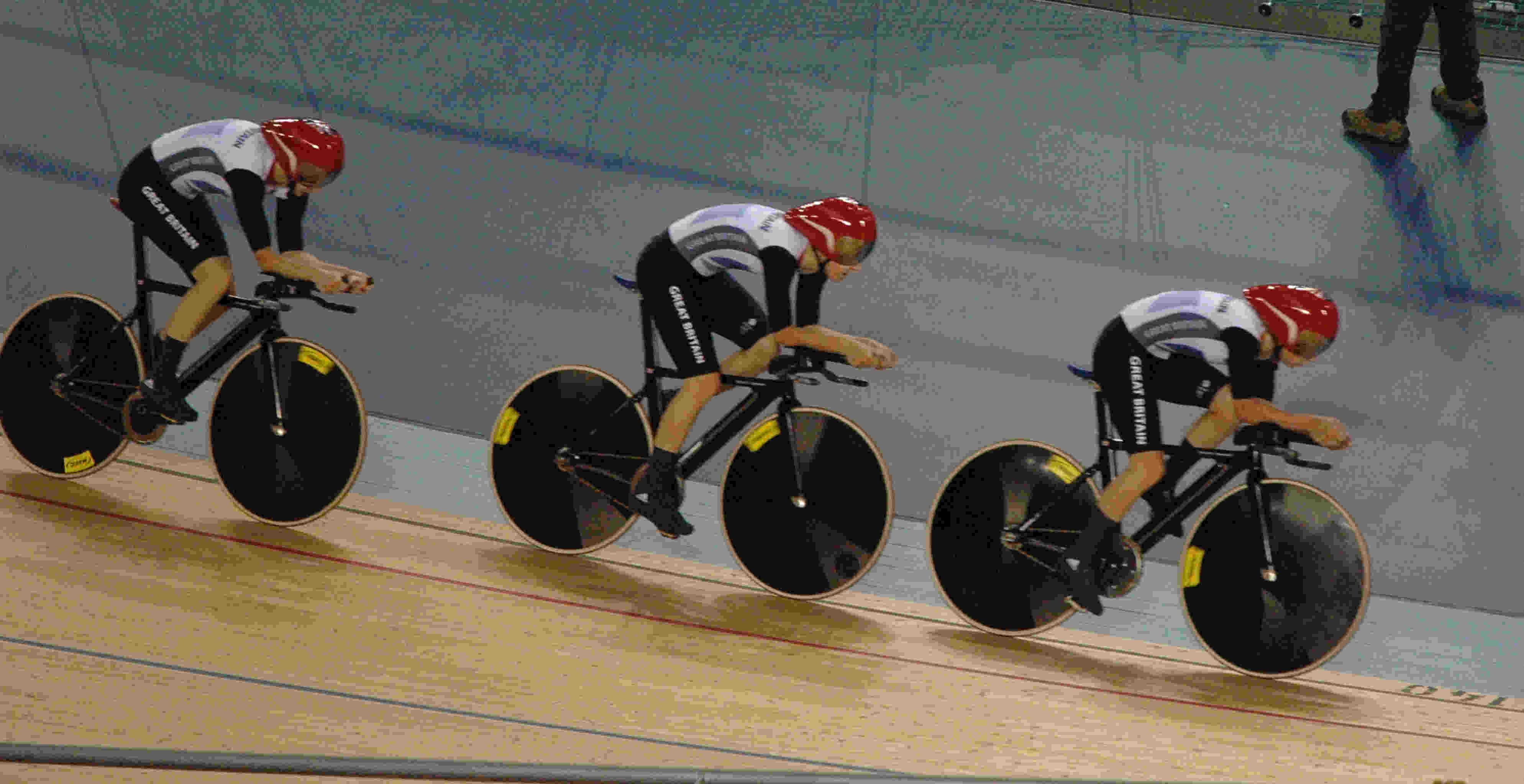 British Cycling team - London 2012